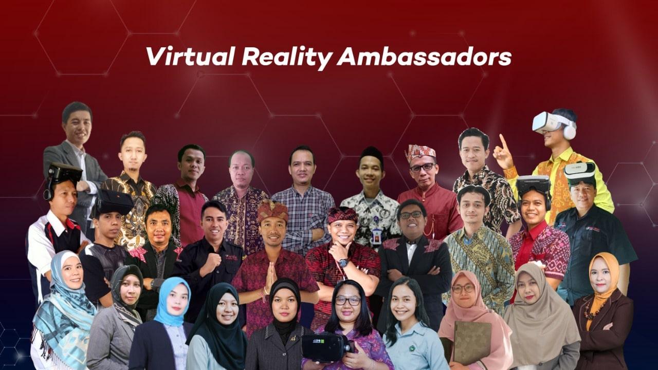 Photo Program VR Ambassador Berhasil Mencetak Ribuan Pionir Virtual Reality!