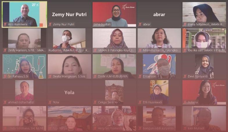 Photo Guru Binar dan Education New Zealand Sediakan Beasiswa untuk Guru di Kalimantan