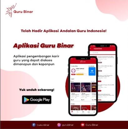 Photo Lebih dekat dengan Guru Pembelajar, Guru Binar meluncurkan Mobile Apps