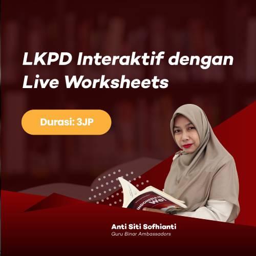 Photo LKPD Interaktif dengan Live Worksheets