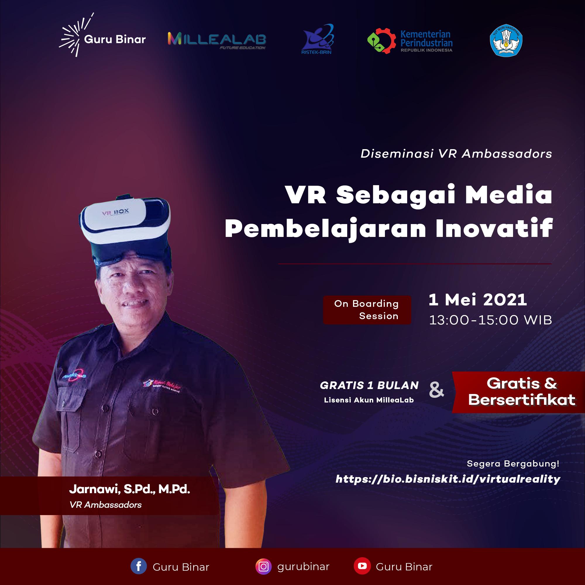 Photo  Inovasi Perancangan Media Pembelajaran Berbasis VR (Kelas I)