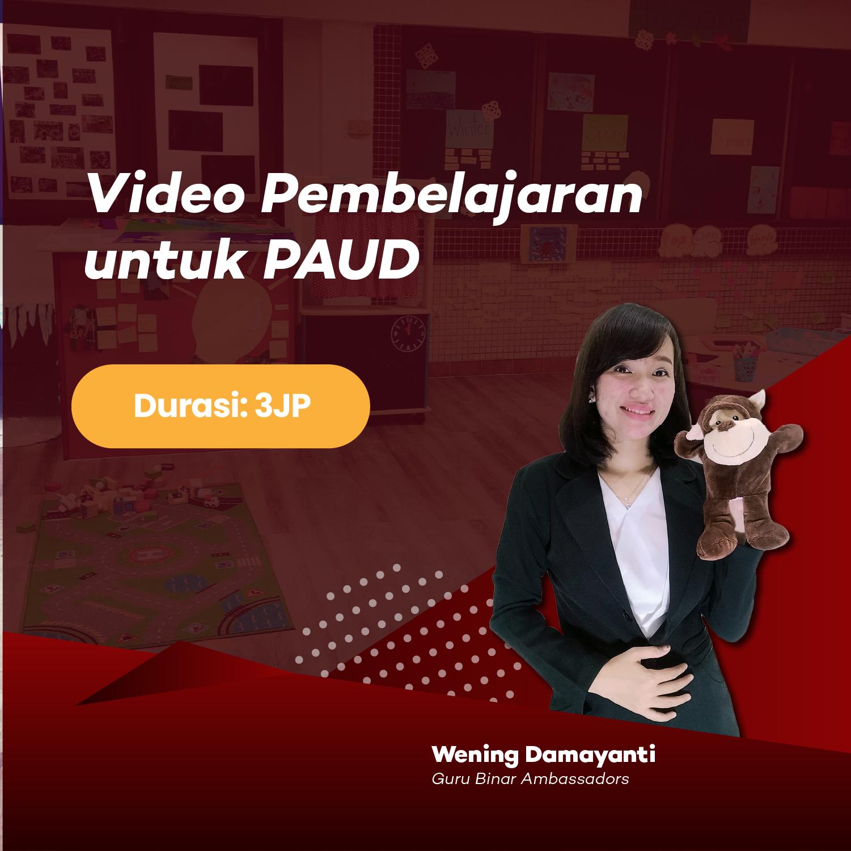Photo Video Pembelajaran untuk PAUD