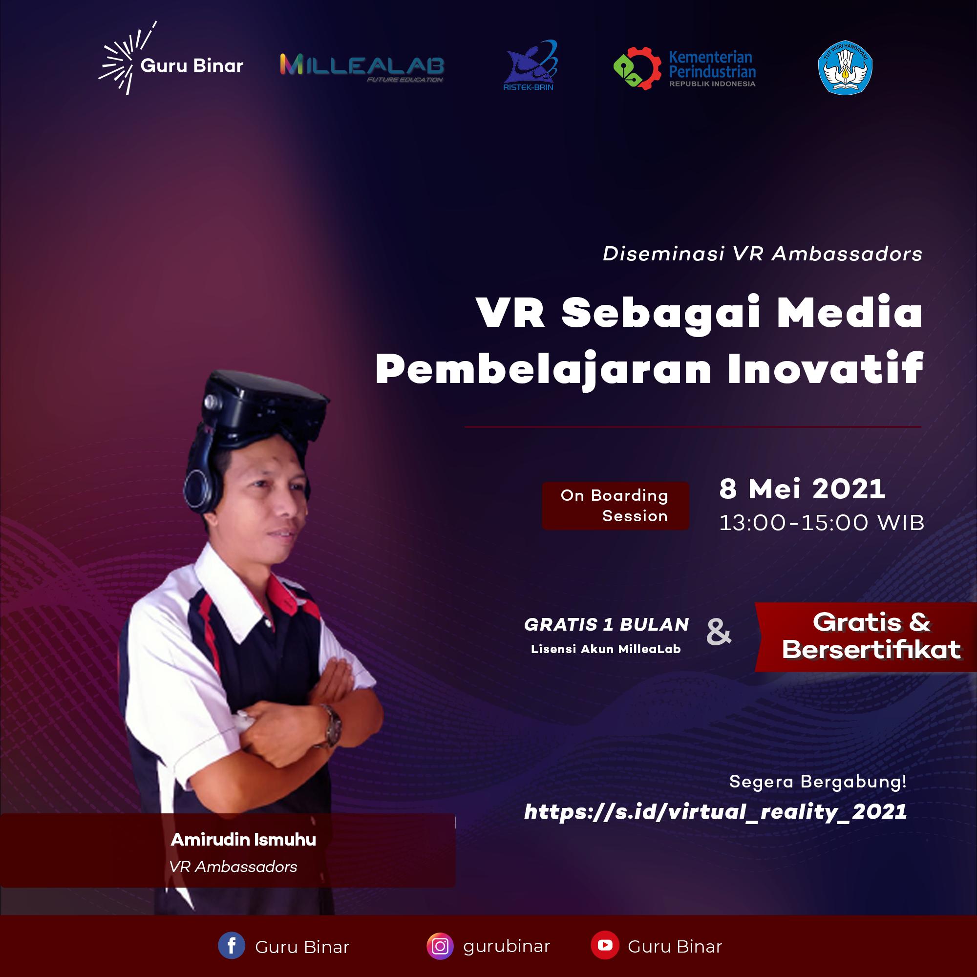 Photo  Inovasi Perancangan Media Pembelajaran Berbasis VR (Kelas VI)