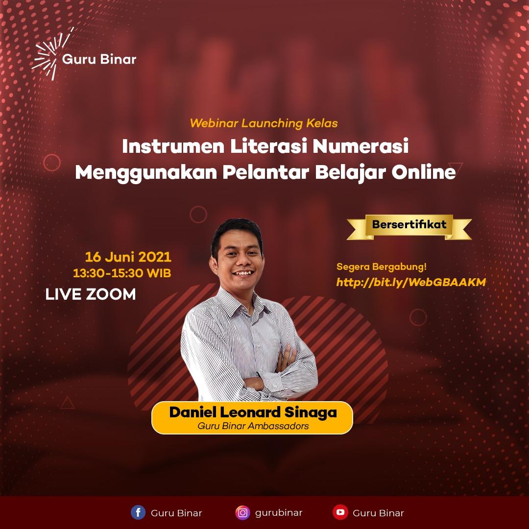 Photo Webinar Launching: Instrumen Literasi Numerasi menggunakan Pelantar Belajar Online