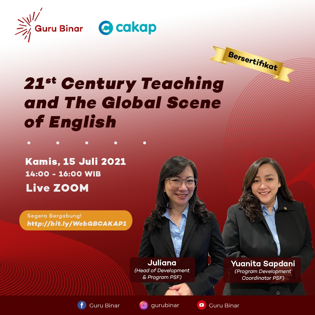 Photo 21st Century Teaching and The Global Scene of English